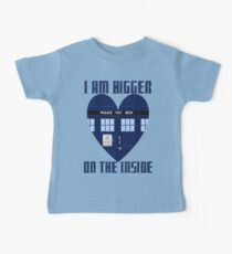 Bigger on the Inside Baby Tee