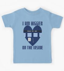Bigger on the Inside Kids Tee