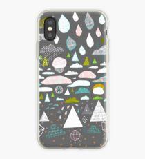 paysage abstrait iPhone Case