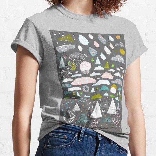 paysage abstrait Classic T-Shirt