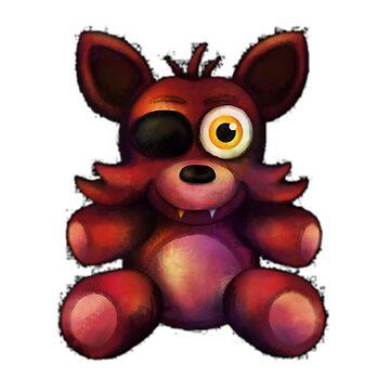 Five nights at freddys fnaf fox foxy Toy Foxxy foxxy by Taelss