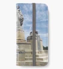 Classic Statue, Denver, Colorado iPhone Wallet/Case/Skin