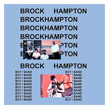 Brockhampton Kanye West Life of Pablo Cover Parody by SteinsFate