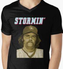 Stormin' Gorman Men's V-Neck T-Shirt