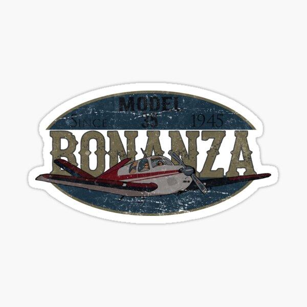Beech Bonanza Since 1945 Retro Vintage Design Sticker