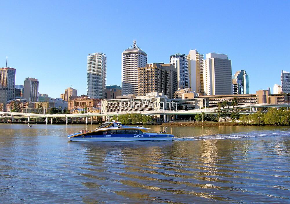 Brisbane Riverside......Australia by JuliaWright