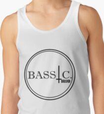 Bassic logo, black print Men's Tank Top