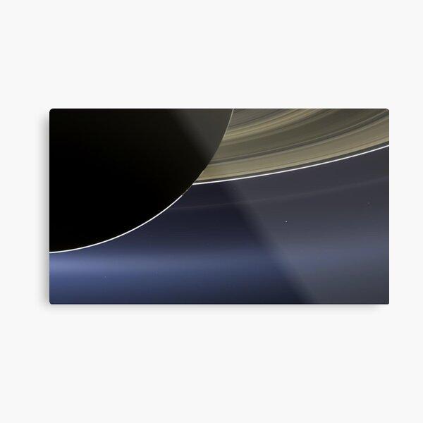 The pale blue dot Metal Print