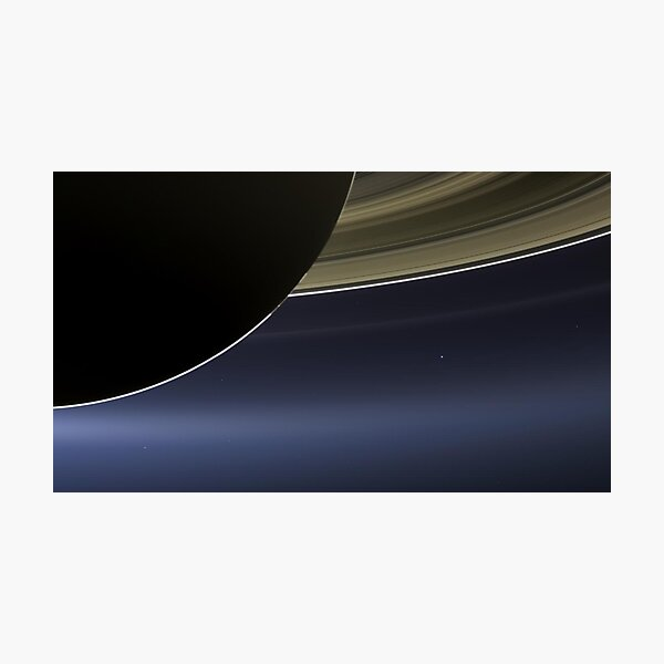 The pale blue dot Photographic Print