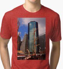 Camiseta de tejido mixto South Street Seaport - New York