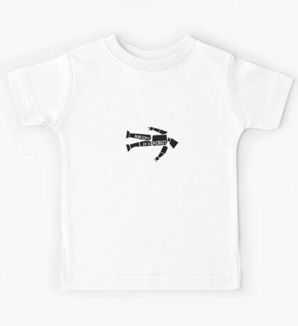 Anatomy of a Robot Kids Clothes