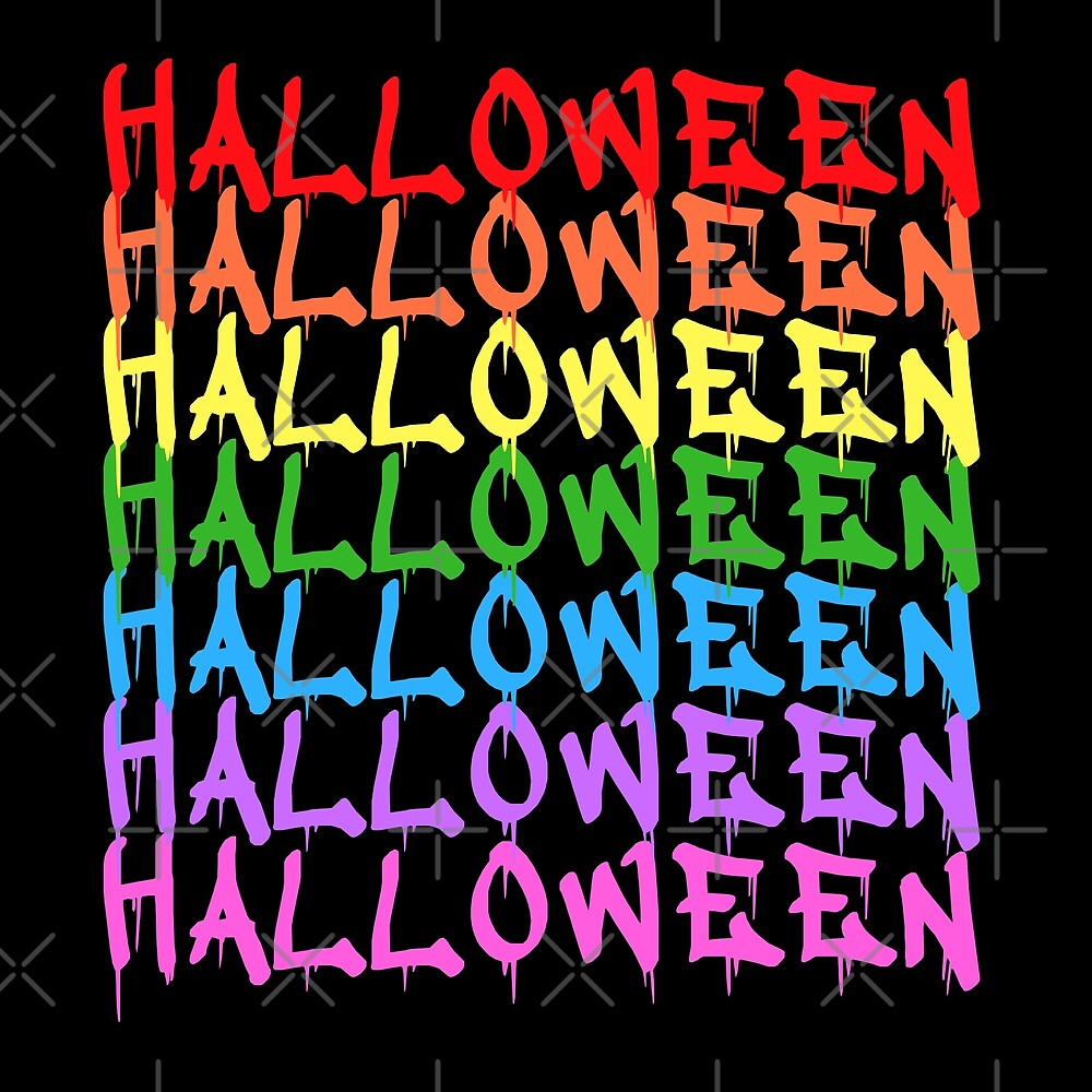 lgbt rainbow halloween