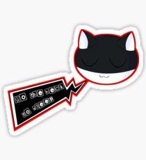 Morgana Go The Heck To Sleep Sticker
