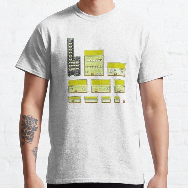Pokemon Goldenrod Minimalist Arrangement Classic T-Shirt
