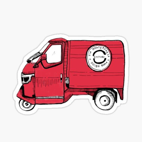 Schnecke Caravan Truck Auto Bus SUV Laptop lustiger witziger Sticker Renn