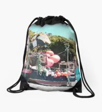Cadgwith cove 1 Drawstring Bag