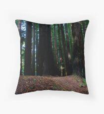 Californian Redwoods Otways Victoria  Throw Pillow