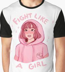 Camiseta gráfica Lucha como Bong-Soon