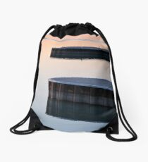 Lakeside Chautauqua on Lake Erie Dockside Drawstring Bag
