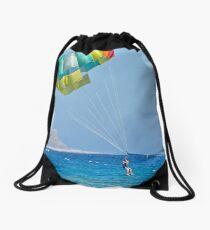 Time to get wet! Drawstring Bag