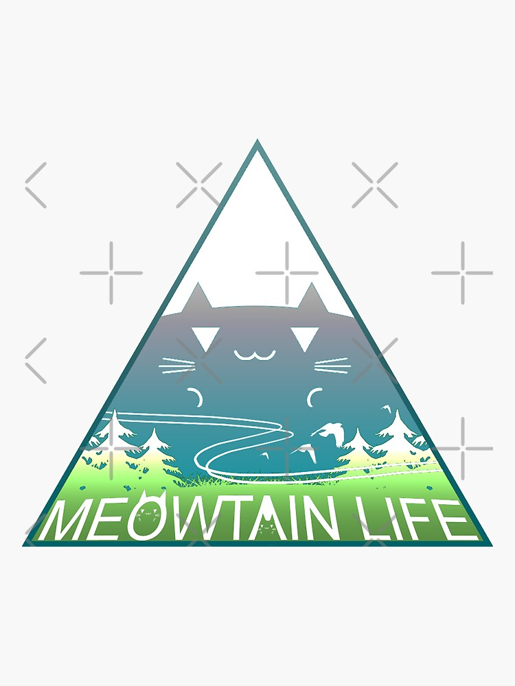 Meowtain Life by Rumby
