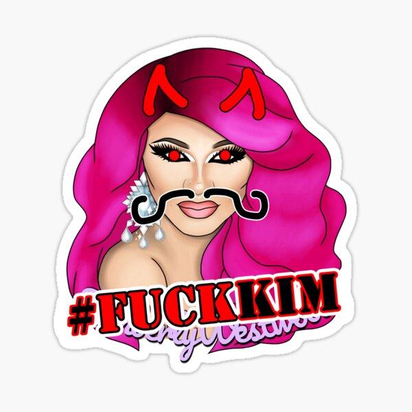 Fuck Kim  Sticker