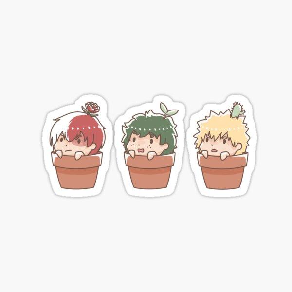 les garçons seront ... des plantes? Sticker