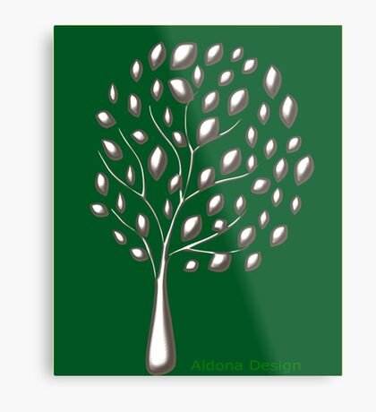 Tree (4856 Views) Metal Print