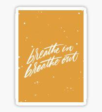 Breathe Sticker