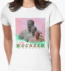 wounded frasier Women's Fitted T-Shirt