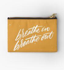 Breathe Zipper Pouch