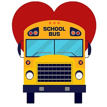 School Bus Driver Gift Tshirt by Zuri2018