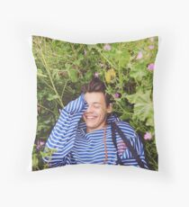 Harry Styles Throw Pillow
