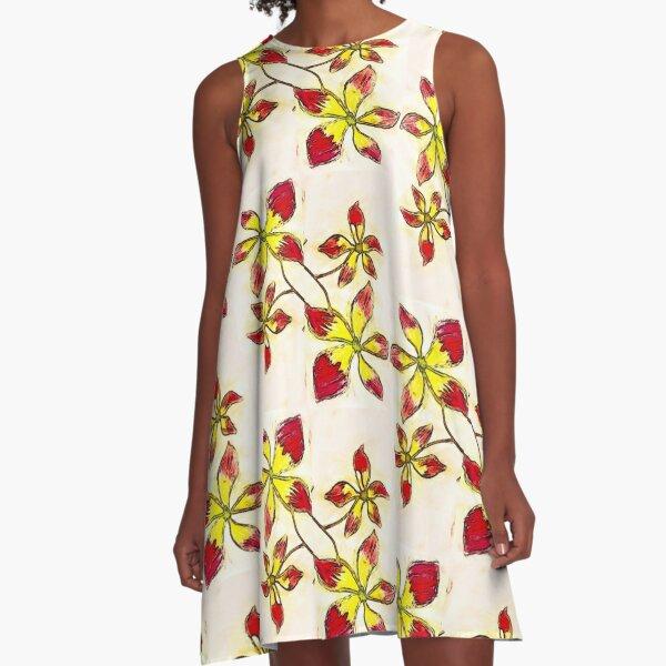 Hannah's genius A-Line Dress