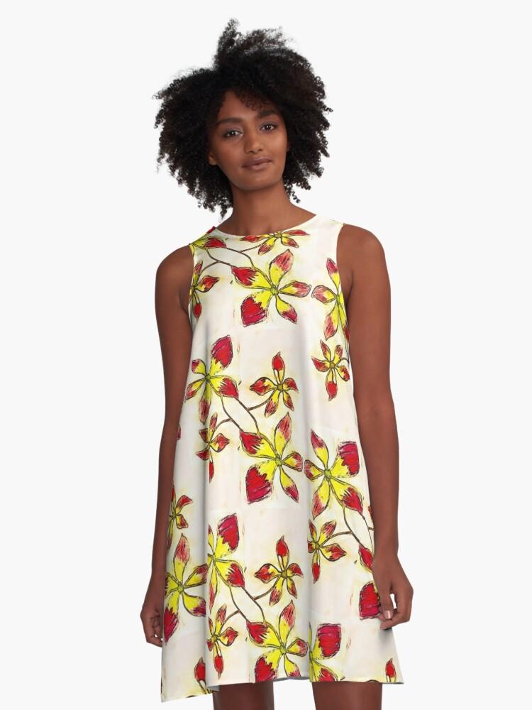 Hannah's genius A-Line Dress Front