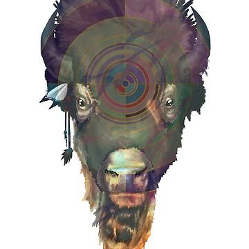 Bison by E-McAleavey