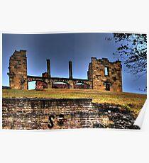 Ruins, Port Arthur Poster