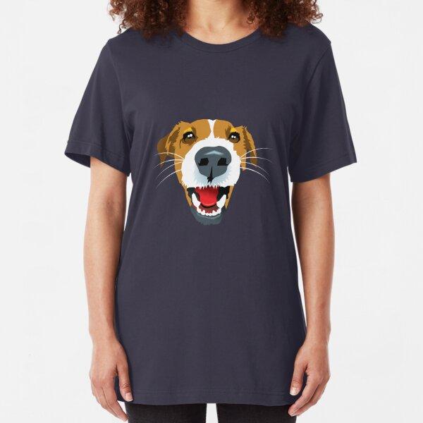 Harry the Fox Terrier Slim Fit T-Shirt