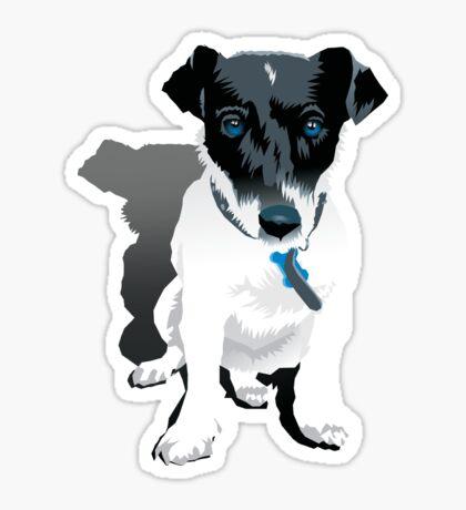 Puppy Alfie Sticker