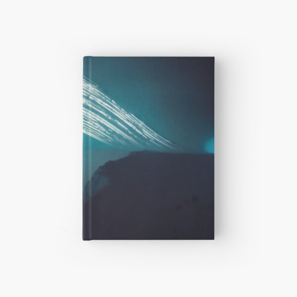 3 month exposure at Beachy head lighthouse UK Hardcover Journal