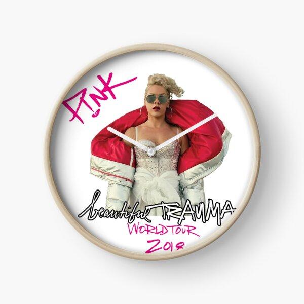 pink beautiful trauma world tour 2018 Clock