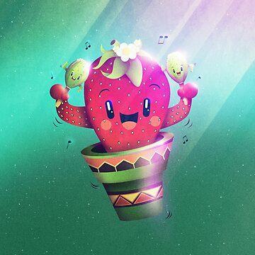 Strawberry Cactus von schwebewesen