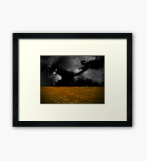 In extremis Framed Print