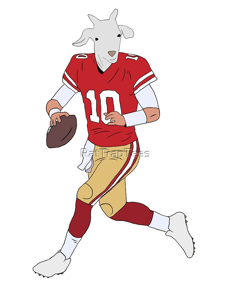 reputable site f5248 c17ce Jimmy Garoppolo, The GOAT | Kids T-Shirt