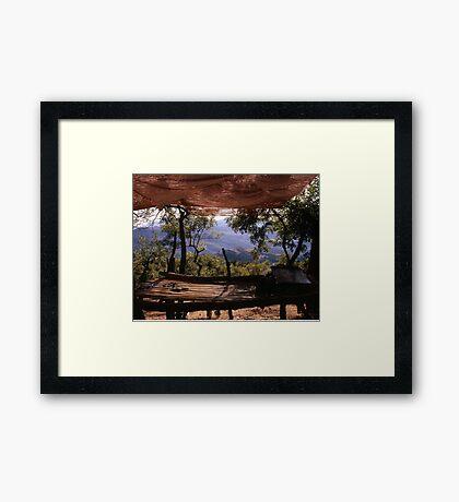 Manna Framed Print