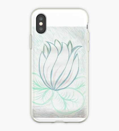 Lovely Light Lily iPhone Case