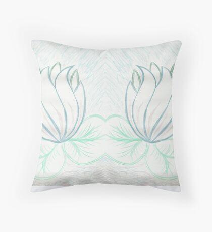 Lovely Light Lily Floor Pillow