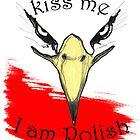 White Eagle with golden beak the Symbol of Poland  by PeLari