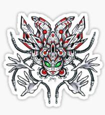 Cyber Aztek Sticker
