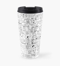 an Ultimate vine compilation but instead of a video its just terribly drawn  Travel Mug